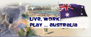 live work and play in Australia